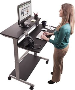 h henverstellbarer schreibtisch von stand up desk store im test hoehenverstellbarer. Black Bedroom Furniture Sets. Home Design Ideas