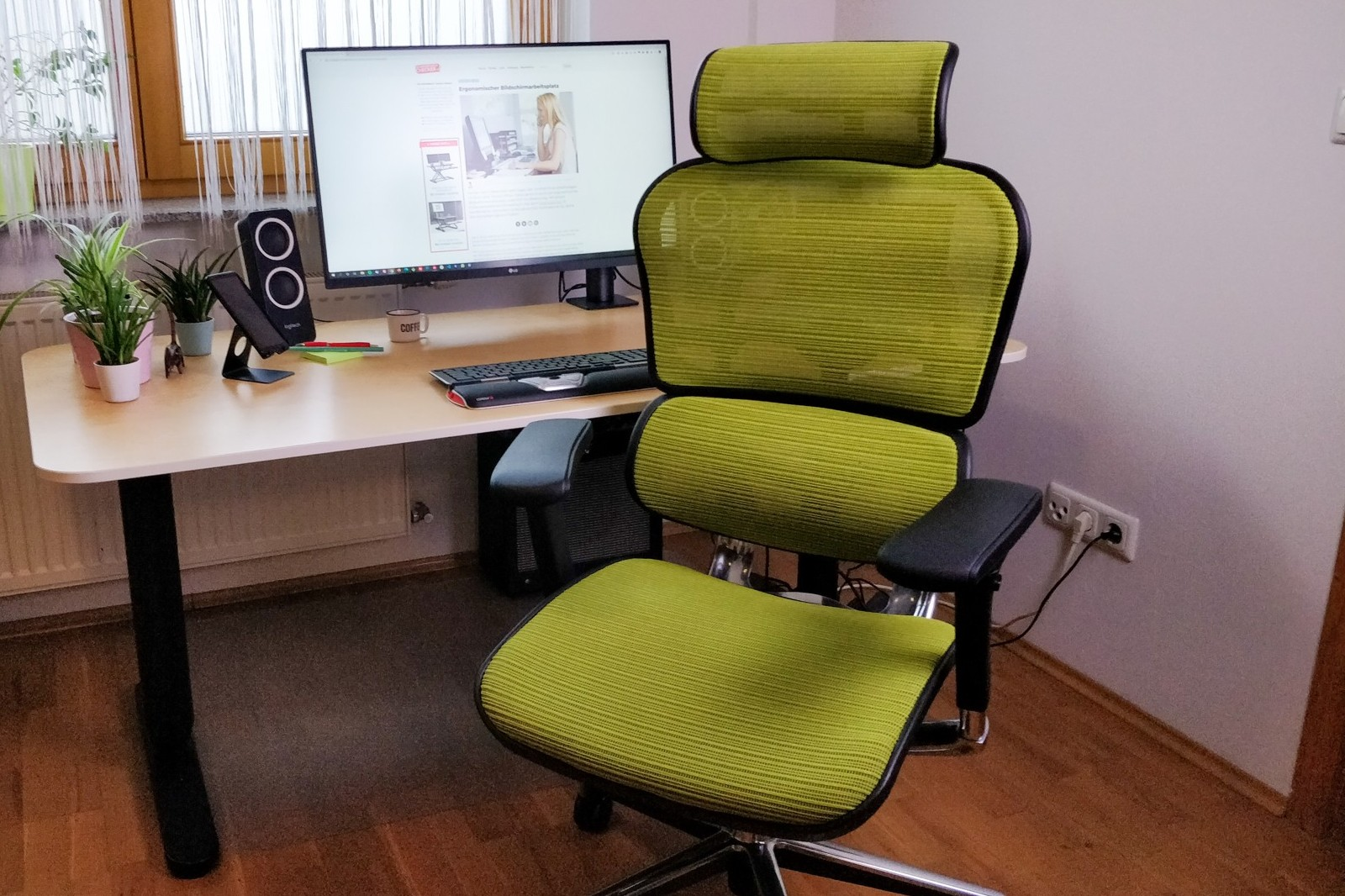ergonomischer bürostuhl für große menschen