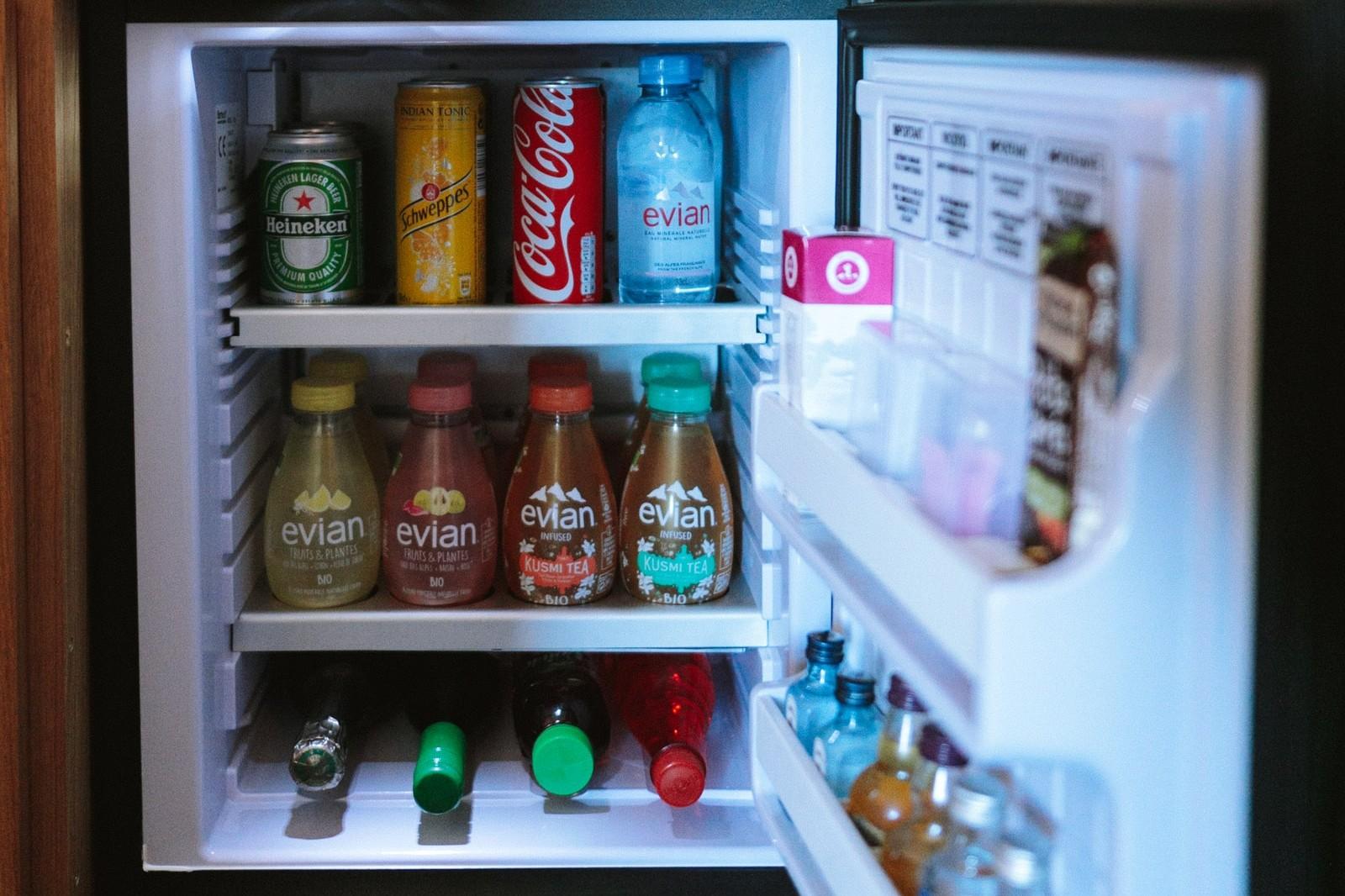 Kleiner kühlschrank fürs büro
