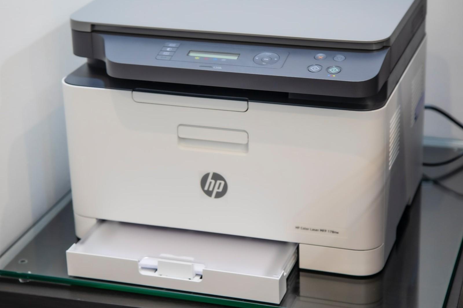 schwarzweiß laserdrucker mit scanner